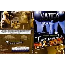 Mattos Nascimento - Testemunho E Músicas - Dvd Novo Lacrado