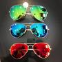 Compre 3 Óculos Aviador Feminino Masculino Espelhados Pague2
