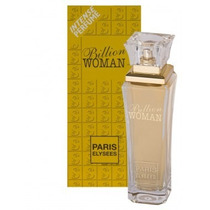 Perfume Billion Woman Feminino 100 Ml Paris Elysees