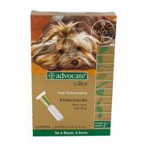 Advocate Endectocida Para Cães Até 4kg Bisnaga De 0,4 Ml
