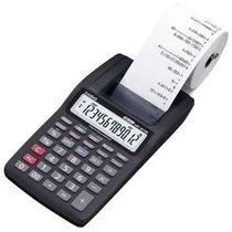 Calculadora De Mesa Com Bobina 12 Dig Hr8tm-bk - Casio