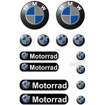 Kit Adesivos Capacete Bmw Motorrad Refletivo Ktcp21 - Decalx