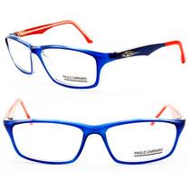 Armação Acetato Paulo Carraro Para Oculos De Grau - 7022