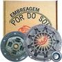 Kit De Embreagem Remanufaturada Fusca 1500 1600 1973 Diante