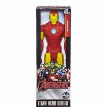 Iron Man Figura Titan 12 Polegadas- Hasbroref.b1667
