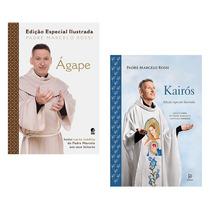 Kit Livros - Ágape E Kairós (edição Especial Ilustrada)
