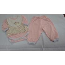 Conj Pagão C/ Body E Colete - Bebê(várias Cores) 0 A 3 Meses