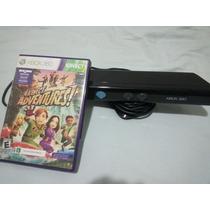 Sensor Kinect + Jogo Original Para Xbox 360 - Última Unidade