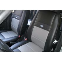 Capas Couro Ecológico Courvin Para Ford Fiesta / Ford
