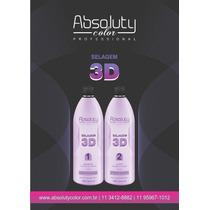Selagem 3d Absoluty Color Cabelo 100%