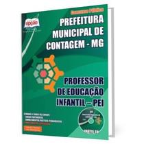 Apostila Professor De Educação Infantil Contagem Mg 2015