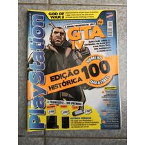 Revista Playstation Edição Histórica Gta Naruto N°100