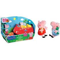 Carro Peppa Pig Papai Pig + Peppa Pig + George Pig Pepa