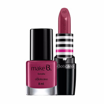 Frete Grátis - O Boticário Kit Make B Barbie Fantastic Rouge