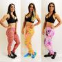 Kit Com 10 Calças Legging Suplex Roupas Fitness Ginastica