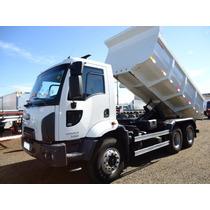 Ford Cargo 26-23 Ano 2013 6x4 Ar Condicionado Caçamba 12m