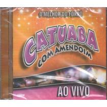 Cd Catuaba Com Amendoim Ao Vivo Original + Frete Grátis