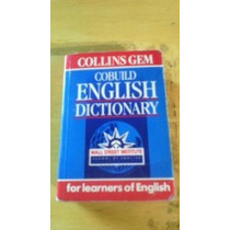 English Dictionary Livro Pequeno Dicionario Ingles Collins
