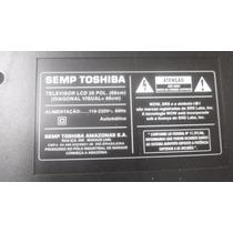 Tv Lcd Semp Toshiba 2640w Em Peças