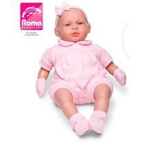 Boneca Bebê Real 5075 - Roma Brinquedos