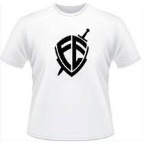 Camisa Personalisada Fé Escudo