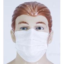 Máscara Descartável Em Tnt - Embalagens Com 100 Unidades