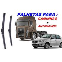 Palheta Rodo Para Carro/caminhão Tamanho 18