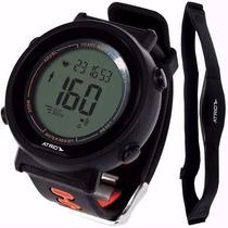 Relógio Monitor Cardíaco Calorias Corrida - Atrio Fortius