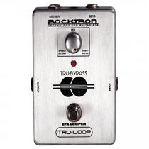 Pedal Rocktron Para Guitarra Tru Loop Prata