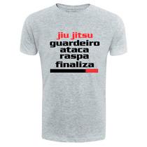 Camiseta Jiu Jitsu Guardeiro Passador Mma Luta Royce Gracie