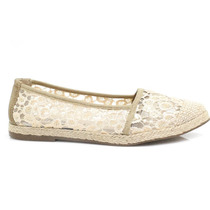 Sapatilha Zariff Shoes Alpargata Renda | Zariff