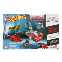 Hot Wheels Pista Ultimate Spider-man Homem Aranha