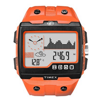 Relógio Timex Masculino Expedition Ws4 T49761su/ti Laranja