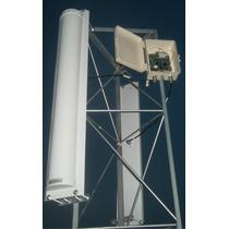 Kit Com 02 Antena Painel Setorial 21dbi 180º H 120 V