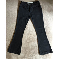 Calça Jeans Flare, Marca Siberian, Feminina Com Elastano