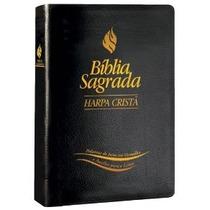 Bíblia Grande Com Harpa Letra Gigante Palav Jesus Em Vermelh