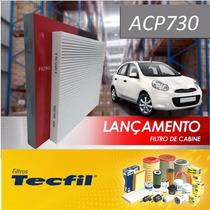 Acp730 Filtro De Cabine Ac Nissan March A Partir 2011