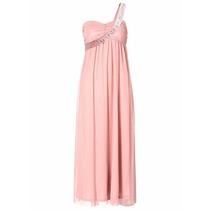 Vestido Longo Rosa Madrinha Casamento Pronta Entrega #prom