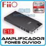 Amplificador De Fones De Ouvido Fiio E18
