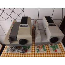 Projetores De Slide Antigo Marca Cabin 1000 A #2281