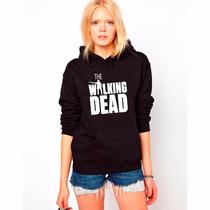 Blusa The Walking Dead Rick Grimes Moletom Canguru!!
