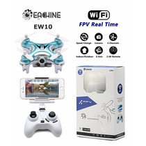 Mini Nano Drone Camera Hd Eachine E10w Wifi 720p Fpv Rc Quad