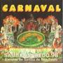 Cd Original Carnaval 98 Sambas Enredo Escolas São Paulo