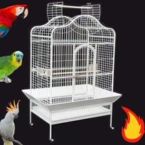 Viveiro Chalé Grande P/ Papagaio Arara Cacatua 12x Sem Juros