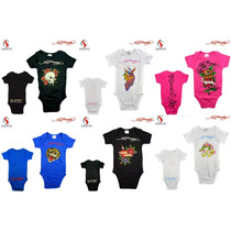 Body Bebe Ed Hardy - 0 A 12 Meses - Exclusivo Carters @