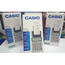 Calculadora Casio Com Impressão Cinza Hr-8tm