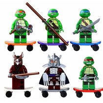Compatível Lego Tartarugas Ninjas Tmnt - Pronta Entrega