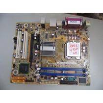 Placa-mãe Pc Desktop 775 Ddr2 Positivo Pos-pig41ba Sem Rede