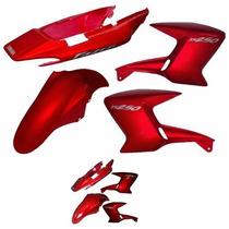 Kit De Carenagem Yamaha Ys 250 Fazer - Vermelho 2007 - Ade