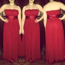 Vestido Longo Festa, Madrinha E Casamento